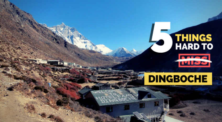5 things hard to miss at Dingboche